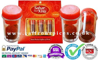 buy saffron powder uk
