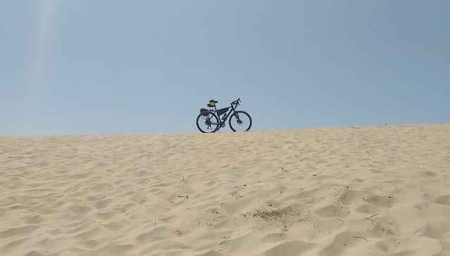в пустыню на велосипеде