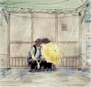 Truyện ngắn tình yêu Mưa lạnh thiên đường