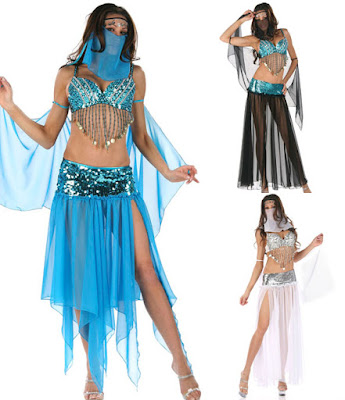 Latest Designs of belly dancer costumes