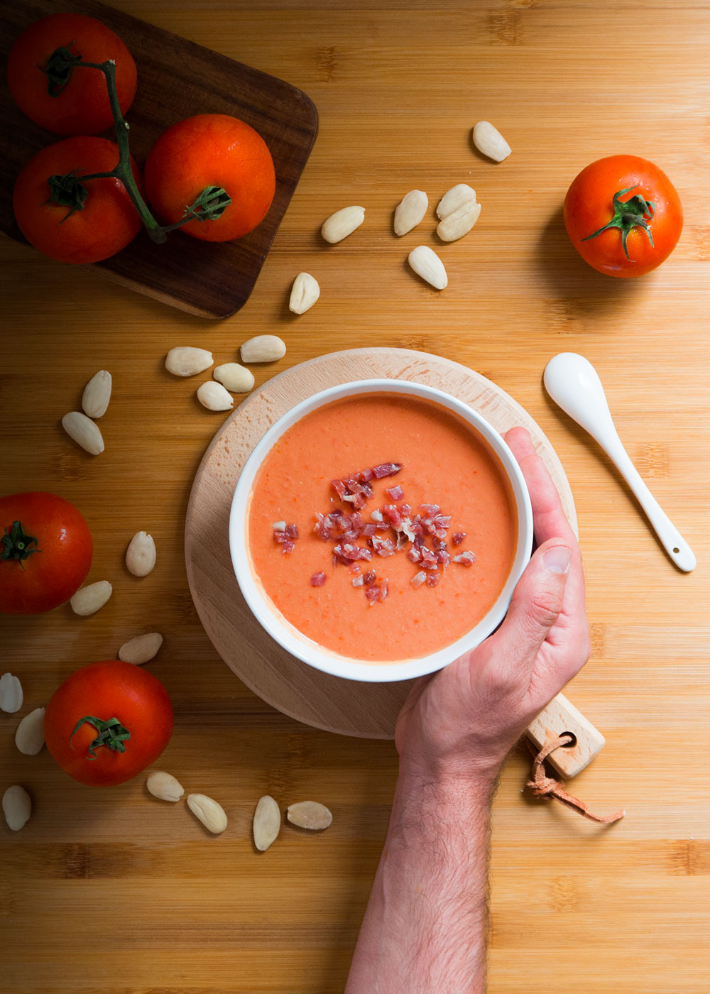 gazpacho sin pan de dieta