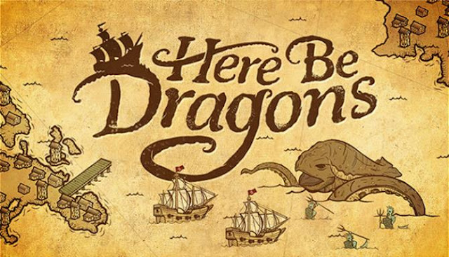Here Be Dragons is an entertainment presented in the style of strategy. In the game you can explore a wide variety of terrain.