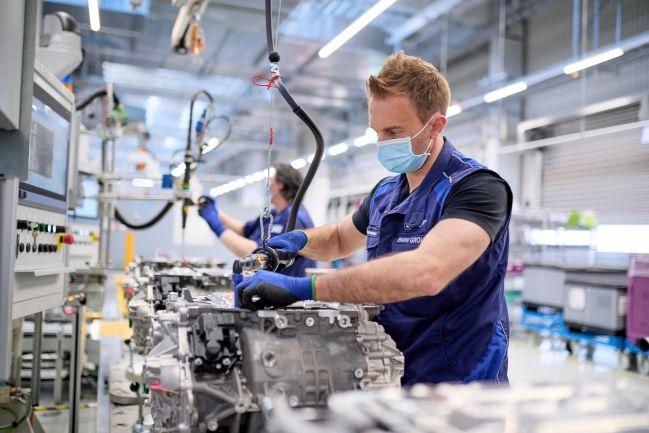 BMW Group inicia produção de trens de força