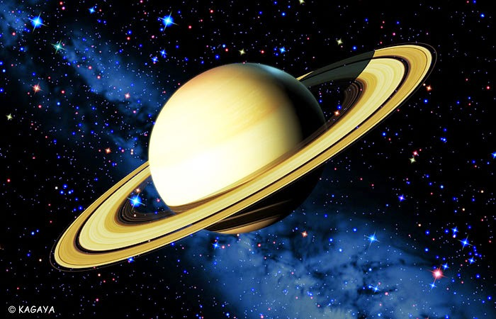 Saturn and Jupiter on High Zodiac Sign
