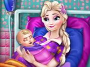 لعبة موساعدة إمراة حامل