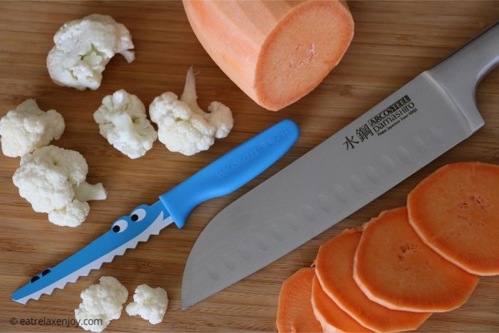 סכיני Damashiro וסכיני ילדים Mini Chef בארקוסטיל
