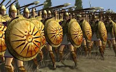 Guest Post: Greek Land Warfare by author Wilbur Arron