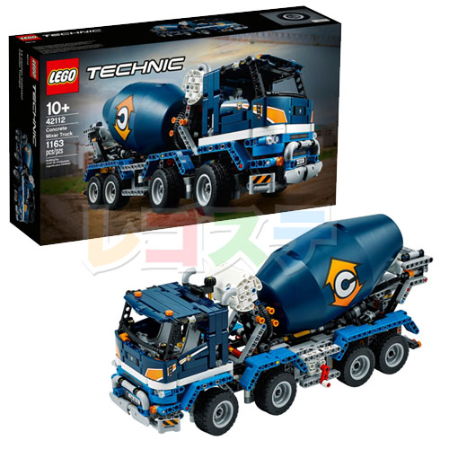 レゴ(LEGO)テクニック コンクリートミキサー車 42112