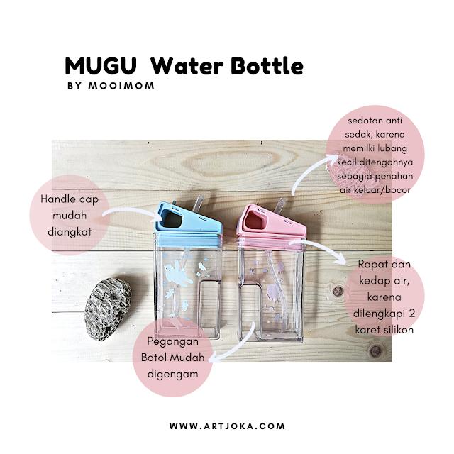 kelebihan mugu water bottle