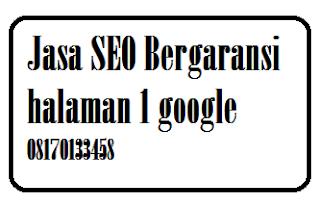 Jasa SEO Murah Bergaransi Halaman 1 Google
