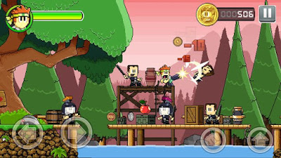 Download Dan The Man (MOD, unlimited money) 1.0.9 for android