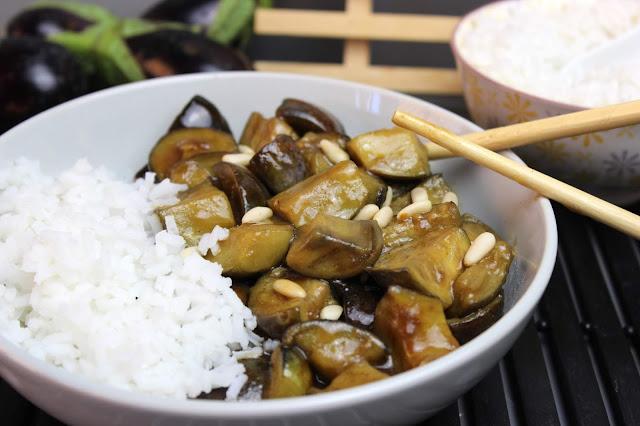 Berenjenas estilo chino. Julia y sus recetas
