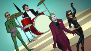 The villains from Batman: Return of the Caped Crusaders