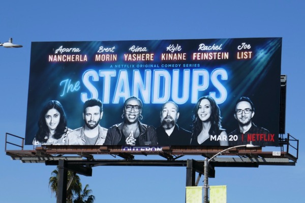 Standups season 2 billboard