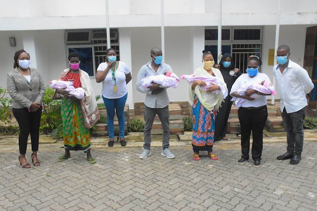 Governor Amason Kingi fulfils his house construction pledge to the family who gave birth to quadruplets.