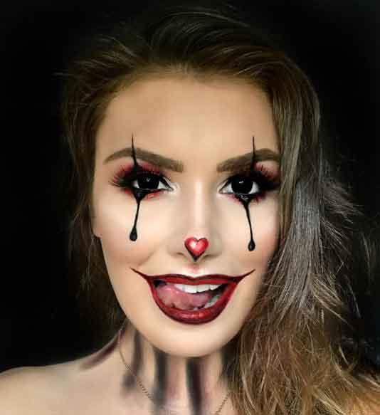 Ideias de maquiagens para o dia das bruxas