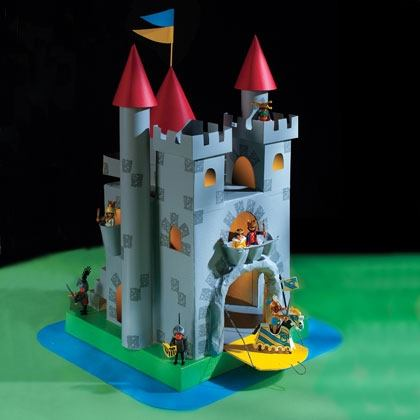 Crafts: The Great Cardboard Castle