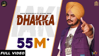 punjabi song lyrics DHAKKA by SIDHU MOOSE WALA