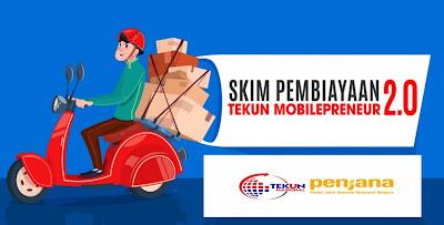 Permohonan Skim Pembiayaan TEKUN Mobilepreneur 2.0 Online (Borang)