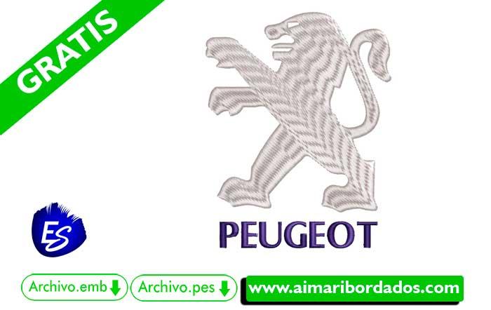 Logo Peugeot Para Bordar