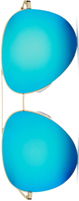 Victoria Beckham Classic Victoria 62MM Aviator Sunglasses