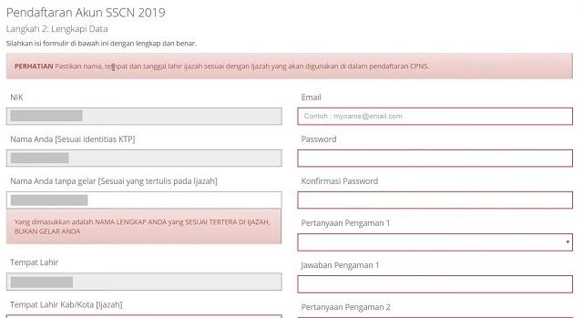 Tutorial Cara Daftar Online CPNS (4)
