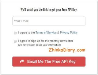 API Key Keywords Everywhere