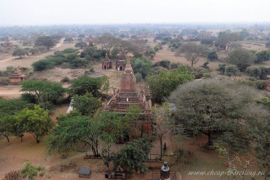 Древние храмы в Бирме