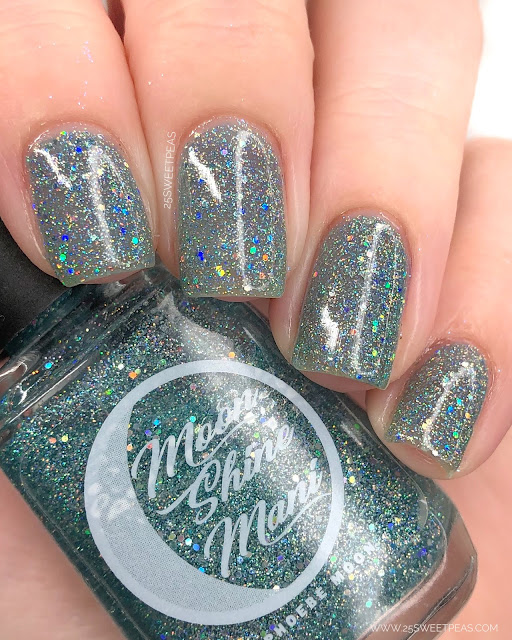 Moon Shine Mani Lets Start The Show 25 Sweetpeas