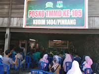 Penyuluhan Narkoba Dalam Rangka TMMD Ke 105 Kab Pinrang