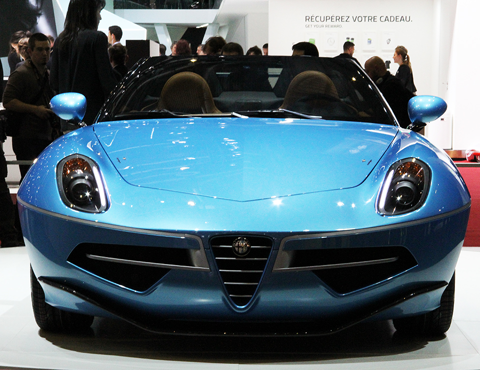 fab wheels digest f w d 2016 alfa romeo disco volante spider by touring superleggera. Black Bedroom Furniture Sets. Home Design Ideas