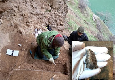 Palaeolithic stone tools found in Iranian Kurdistan