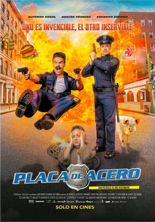 Placa de Acero 2019 HD 1080p Español Latino poster box cover
