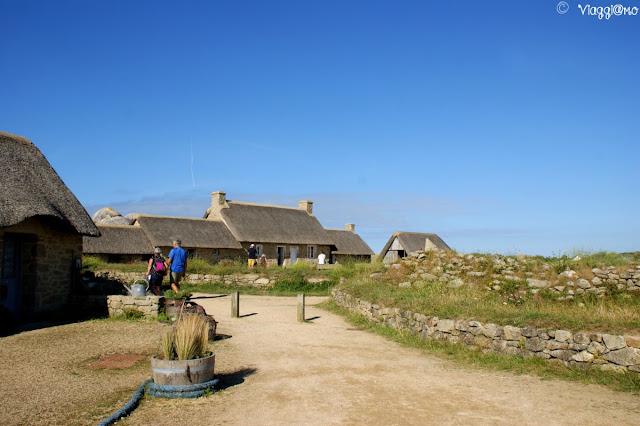 Una parte del villaggio tipico di Meneham-