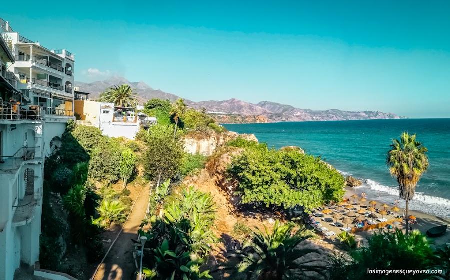 Los acantilados de Nerja son un balcón natural al Mediterráneo