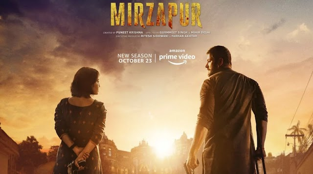 Watch online and Download link of Mirzapur Season 2 Full HD (all Episodes) leaked by Tamilrockers and Flimyhit