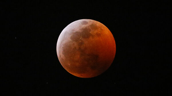 Лунное затмение в ноябре 2020 года