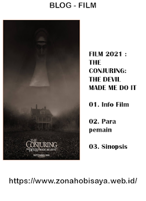 FILM 2021 :  The Conjuring: The Devil Made Me Do It
