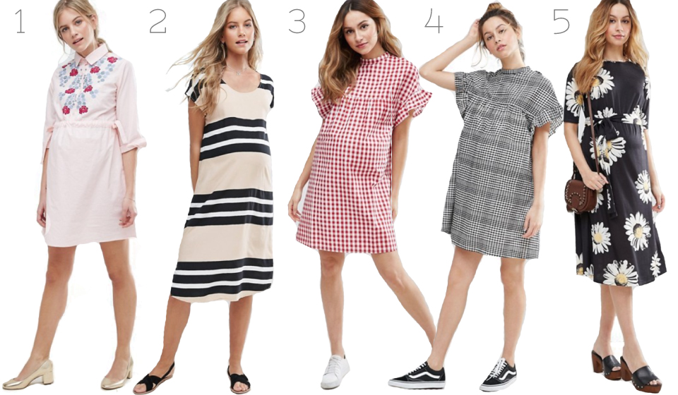 ASOS, Maternity dresses, Pregnancy fashion, Fbloggers, Sarah Satongar, Wish list,