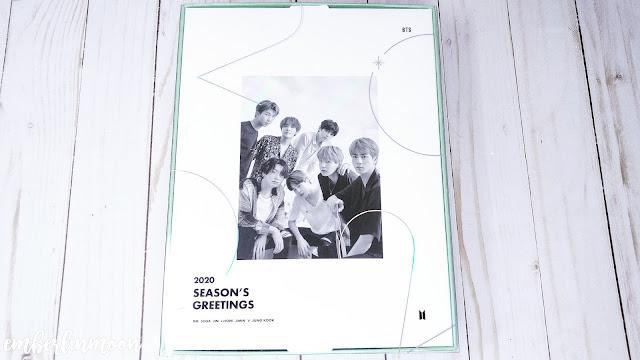 BTS 2020 Season Greetings - Outer Box