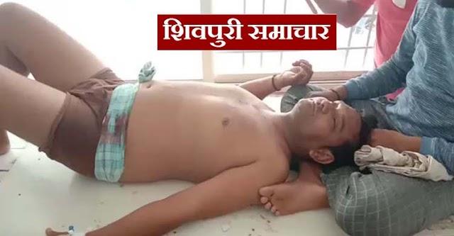 करैरा में गोली कांड: युवक के पेट में लगी गोली, गंभीर / karera News