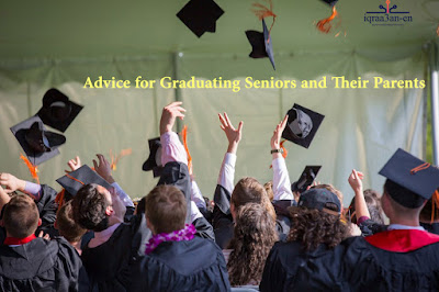 Advice for graduating seniors and parents, COVID-19 pandemic, adversity can be a gift and an opportunity to learn