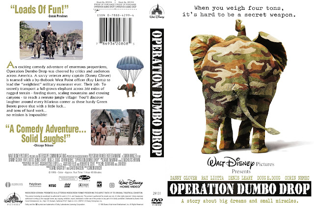 Operation Dumbo Drop DVD Cover