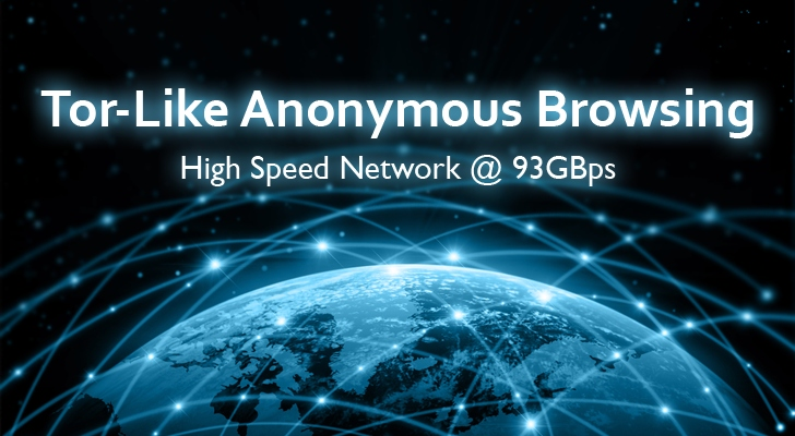 Introducing 93Gbps High-Speed Tor-Like Encrypted Anonymous Network