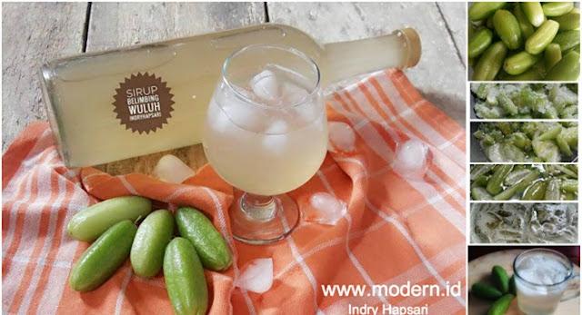 belimbing wuluh ialah jenis buah yang biasanya dipakai oleh buibu untuk melengkapi bum Resep Sirup Belimbing Wuluh. Enak Dan Super Segerr!