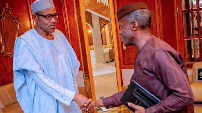 Buhari explains why he didn't hand over to Osinbajo when he travelled in April