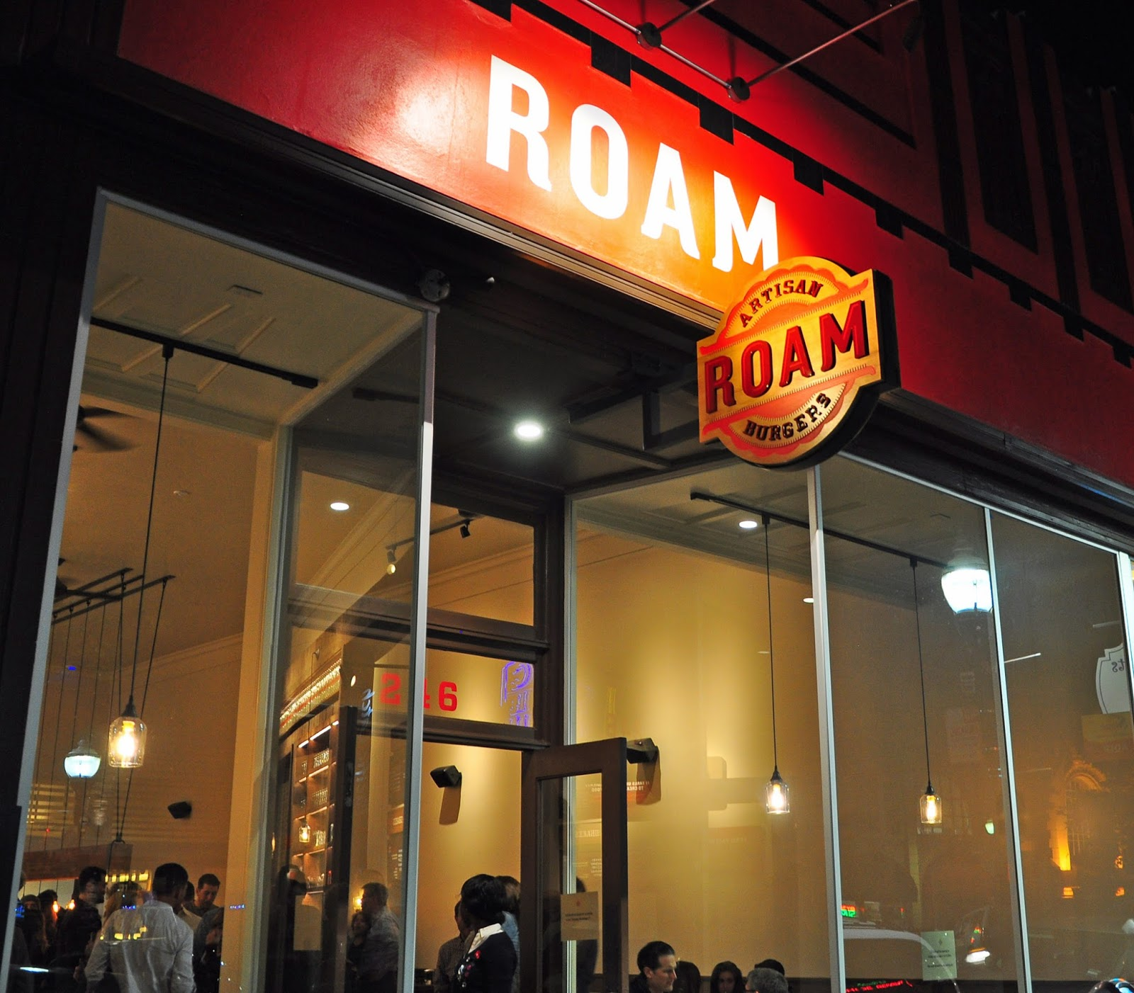 San mateo enthusiastically greets roam artisan burger art and the restaurant groups established menu of sustainably sourced and skillfully prepared burgers sides shakes and house made kristyandbryce Gallery