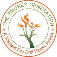 The Smokey Generation logo (burning tree inside a circle)