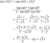 contoh soal dan pembahasan tentang trigonometri