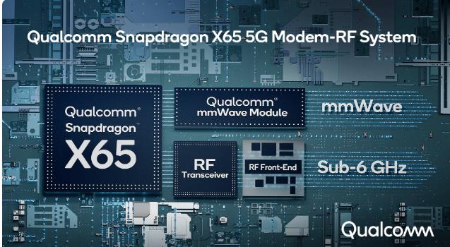 Qualcomm Announces World's First 10 Gigabit 5G Modem RF System